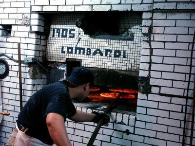 Lombardi's Pizza, Little Italy, New York City, New York