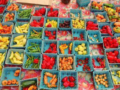 Produce at Union Square Greenmarket, New York City, New York