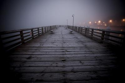 The Pier Near Seattle's Water Taxi Zone on the Puget Sound, West Seattle, Washington