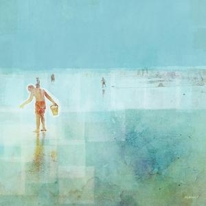Beach Day Shelling by Dan Meneely