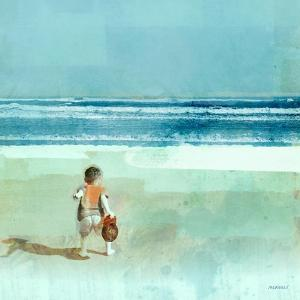 Beach Day Throwing by Dan Meneely