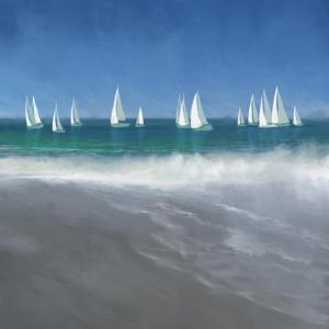 Harbor Sailing by Dan Meneely