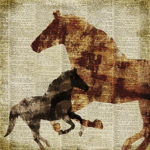 Horses II by Dan Meneely