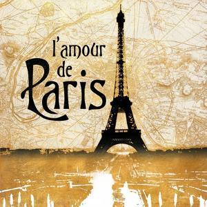 L'amour de Paris Gold by Dan Meneely