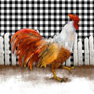 Morning Rooster I by Dan Meneely