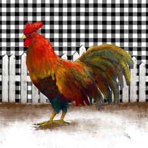 Morning Rooster II by Dan Meneely