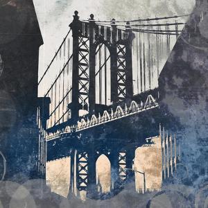 NY Bridge at Dusk II by Dan Meneely