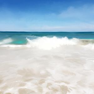 Shore Break I by Dan Meneely