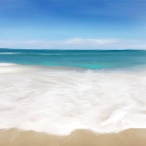 Shore Break II by Dan Meneely