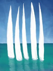 Tall Sailing Boats by Dan Meneely