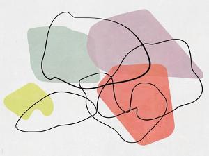 Watercolor Abstract Sketch by Dan Meneely