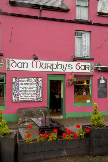 Dan Murphy's Bar in Sneem-Tim Thompson-Photographic Print