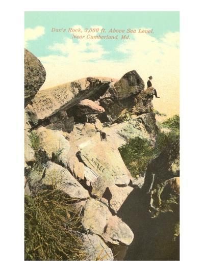Dan's Rock, Cumberland, Maryland--Art Print
