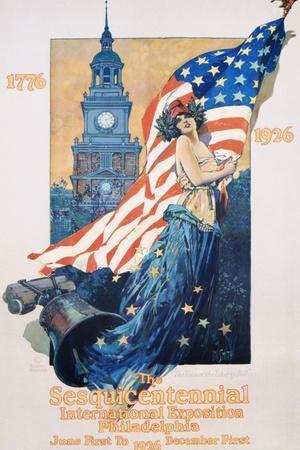 The Sesquicentennial International Exposition Poster