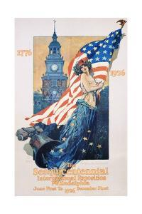 The Sesquicentennial International Exposition Poster by Dan Smith