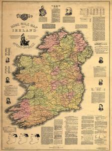 Home Rule Map of Ireland by Dan Sproul