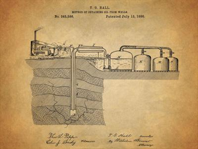 Oil Wells 1886 by Dan Sproul