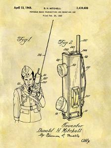 Portable Radio 1948 by Dan Sproul