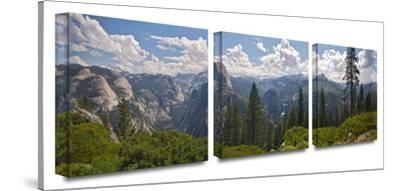 Yosemite- Half Dome and Nevada Falls 3-Piece Canvas Set