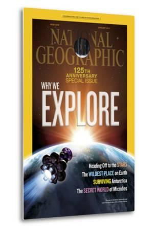 Cover of the January, 2013 National Geographic Magazine