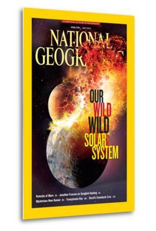 Cover of the July, 2013 National Geographic Magazine