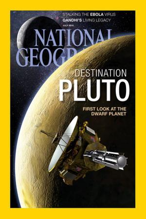 Cover of the July, 2015 National Geographic Magazine by Dana Berry
