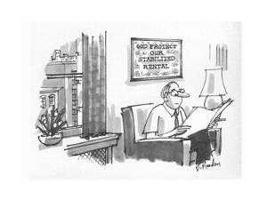 New Yorker Cartoon by Dana Fradon