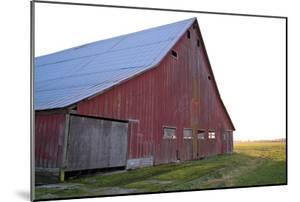Red Barn at Sunset by Dana Styber