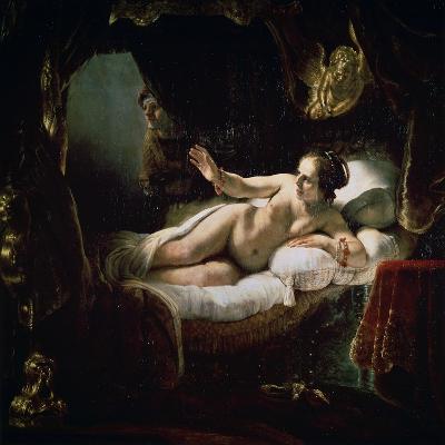 Danae, 1636-Rembrandt van Rijn-Giclee Print