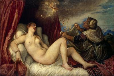 Danae, C1554-Titian (Tiziano Vecelli)-Giclee Print