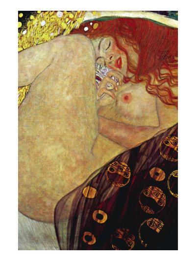 Danae-Gustav Klimt-Art Print