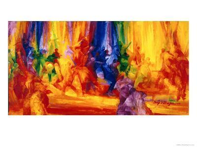 Dance 1, 2000-Bayo Iribhogbe-Giclee Print