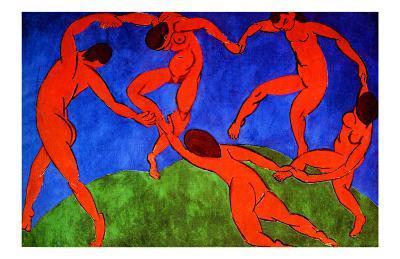 Dance, 1910-Henri Matisse-Giclee Print