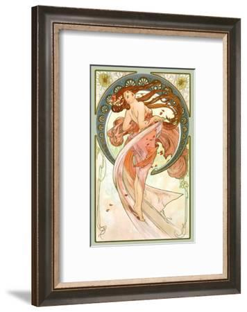 Dance, Art Nouveau Beauty-Alphonse Mucha-Framed Giclee Print