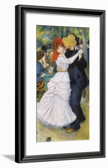 Dance At Bougival 1883 Pierre Auguste Renoir Framed Giclee Print