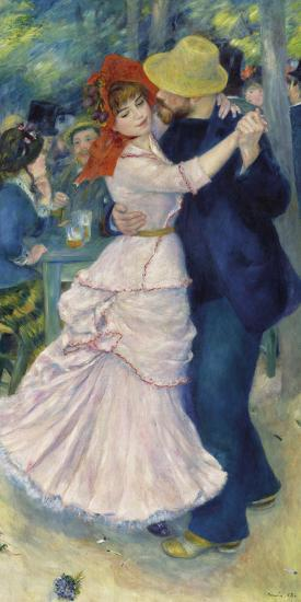 Dance at Bougival, 1883-Pierre-Auguste Renoir-Giclee Print
