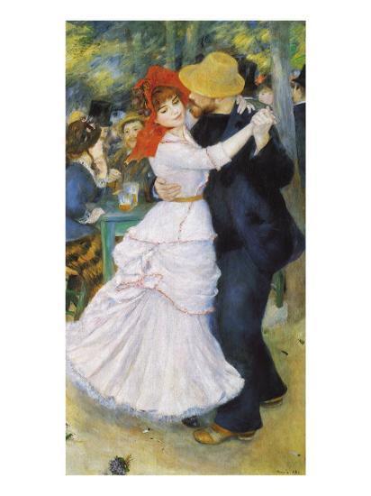Dance at Bougival, 1883-Pierre-Auguste Renoir-Premium Giclee Print