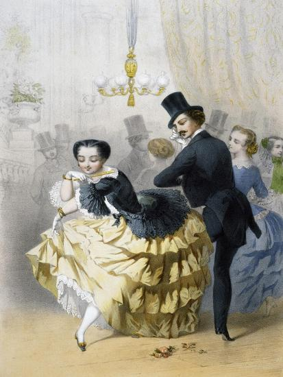 Dance in Paris, Couple of Dancers, France--Giclee Print
