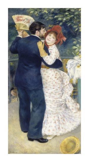 Dance In The Country 1883 Premium Giclee Print Pierre Auguste Renoir Art Com