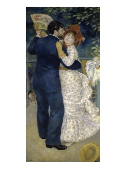 Dance in the Country-Pierre-Auguste Renoir-Premium Giclee Print