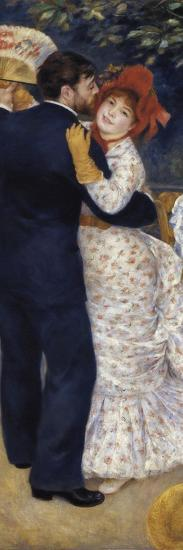 Dance in the Country-Pierre-Auguste Renoir-Art Print