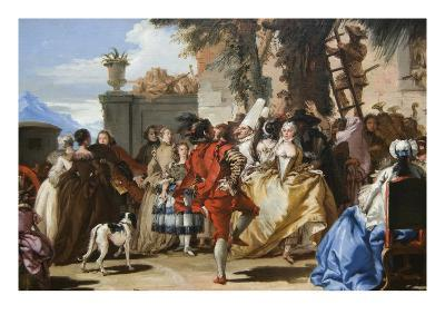 Dance in the Country-Giovanni Tiepolo-Art Print