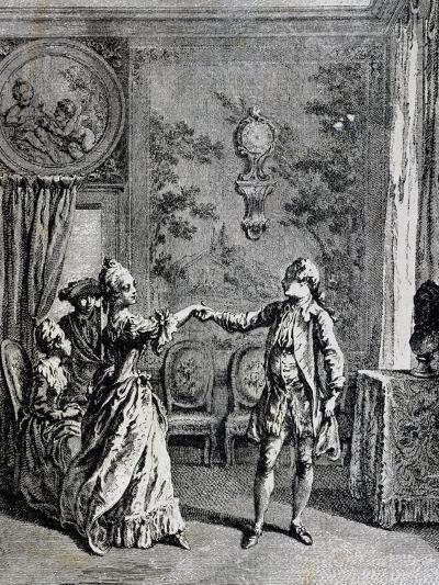 Dance Lesson, France--Giclee Print