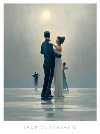 Dance Me to the End of Love-Jack Vettriano-Art Print