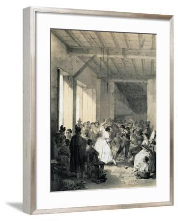 Dance of Gypsies, Spain--Framed Giclee Print