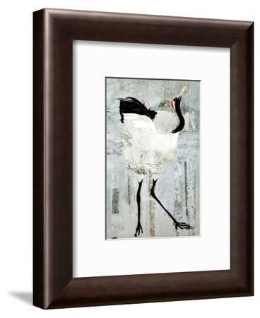 Dance of Red Crown II-Rachel Travis-Framed Art Print