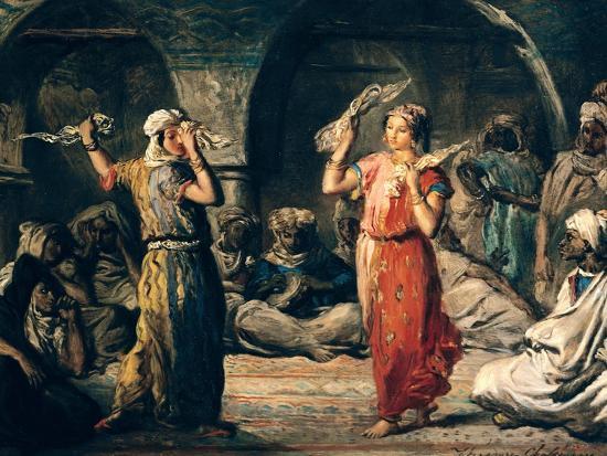 Dance of the Handkerchiefs, 1849-Theodore Chasseriau-Giclee Print