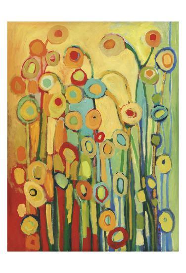 Dance of the Poppy Pods-Jennifer Lommers-Art Print