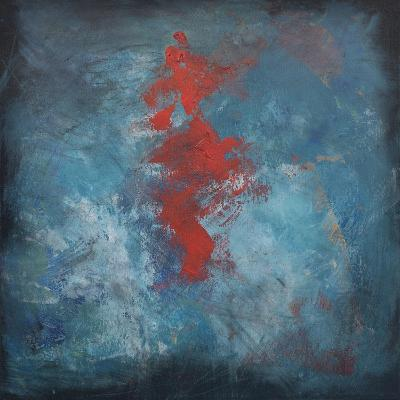 Dance Red on Blue-Tim Nyberg-Giclee Print