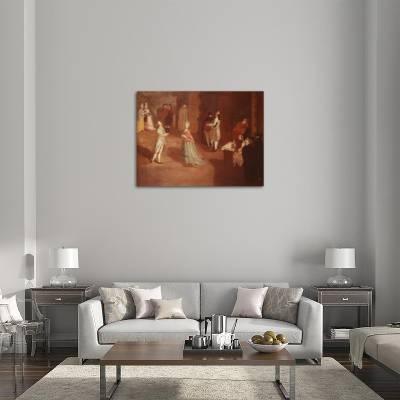 Dance Rehearsal Giclee Print by Pietro Longhi | Art com